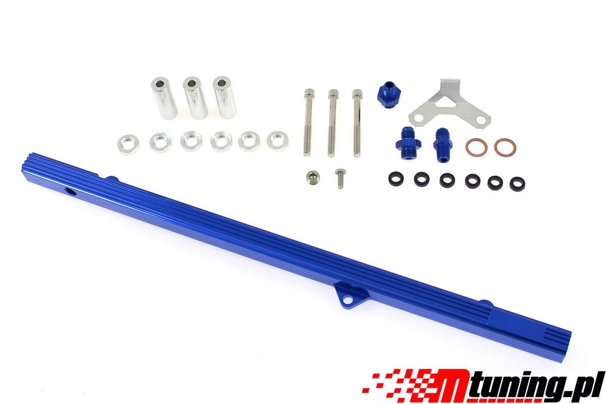 Listwa paliwowa Toyota 2JZ-GTE Blue - GRUBYGARAGE - Sklep Tuningowy